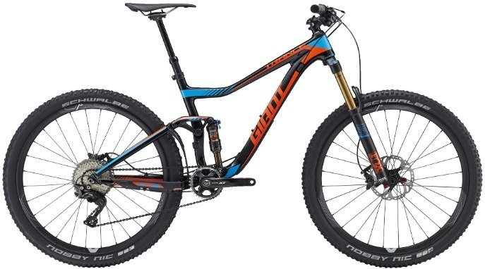 "Велосипед Giant Trance Advanced 1 27,5"" 2016"
