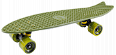 Скейтборд Tech Team Cruiser Fishboard 23 Dark Green