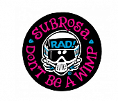Наклейка Subrosa Radical Rick No Wimps
