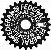 BMX Звезда Federal Solid Logo