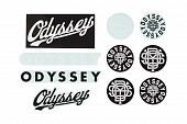 Наклейка Odyssey Assorted Sticker Pack