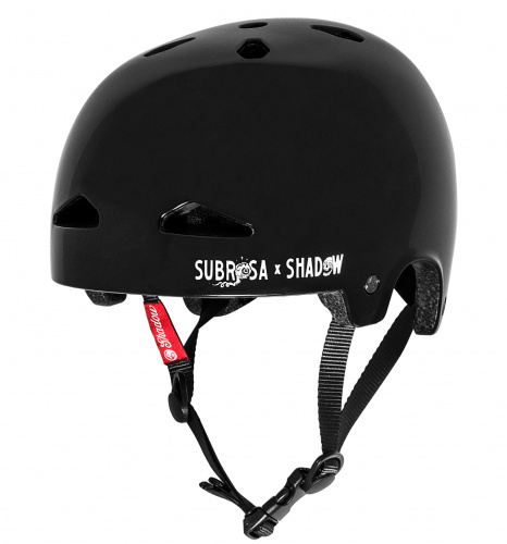 Шлем Shadow x Subrosa FeatherWeight In-Mold (черный)