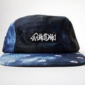 Кепка MAYDAY Night 5 Panel (черный / синий)